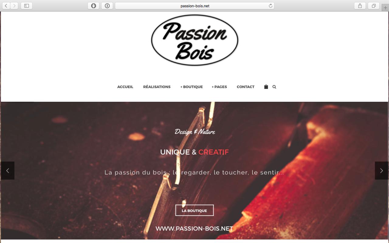 Passion Bois pour site passion-bois - 6metric